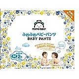 【お試し品 パンツ Mサイズ】Mama Bear (ママベアー) ふわふわベビーパンツ  (7~10kg) 2枚  [Amazonブランド]