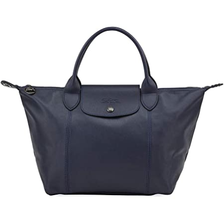 Amazon.com: Longchamp 'Small Cuir Leather Top Handle Tote Shoulder ...