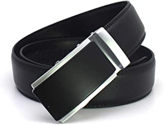 Mens Luxury Designer Belts Men Genuine Leather Ratchet Click Automatic Belt
