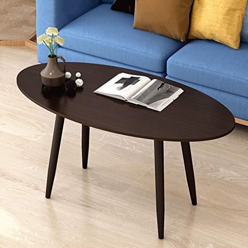 FYONG Sofa Zijtafel Kunstmatige Board Ronde Eettafel Vierkant Computer Tafel Metalen Tafelpoten - 4 Size 4 Kleuren