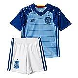 adidas Mini Kit Federación Española de Futbol Conjunto, Niños, Azul, 12-13 años