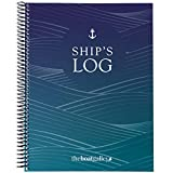 """Five Logbooks In One: Ship's Log, Cruising Log, Vessel Inventory, Fluid Changes & Fills, Maintenance, Repairs & Upgrades plus a Quick Reference section in an 8"""" x 10"""" book - large enough to comfortably write in but still small enough to store conveni..."""