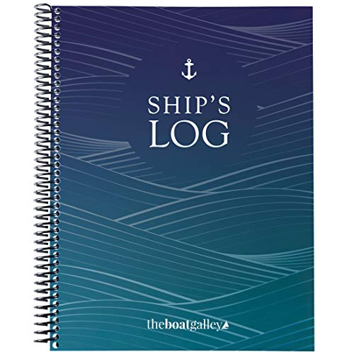 The Boat Galley 5-in-1 Ship's Log: 5 Trip and Maintenance Logs in 1 Book - 164 Pages - Boater's Logbook for Cruisers, Sailboats, Trawlers, Houseboats