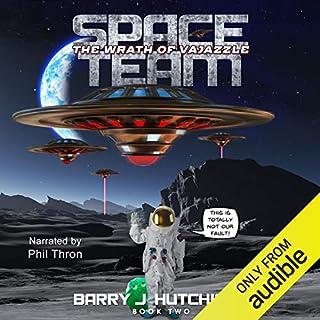 Space Team: The Wrath of Vajazzle audiobook cover art