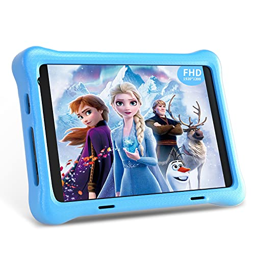 Kids Tablet 8-Zoll WiFi Android 10 Tablet PC 2021 New FHD 1920x1200 IPS Screen, 2 GB RAM 32 GB ROM