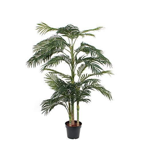 MICA Decorations Kunstpflanze, Polyester, grün, h190xd145cm