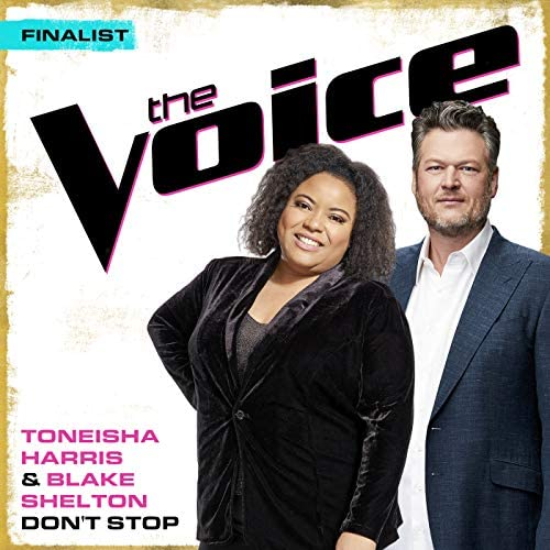 Toneisha Harris & Blake Shelton