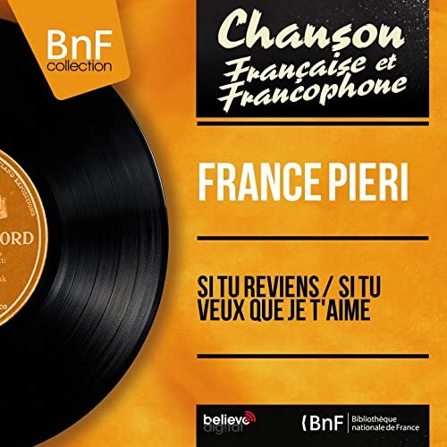 France Pieri feat. Jacques Loussier et son orchestre