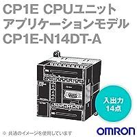 オムロン(OMRON) CP1E-N14DT-A CPシリーズ CP1E CPUユニット (アプリケーションモデル) (AC100-240V) (入出力14点) (Tr出力シンク) NN