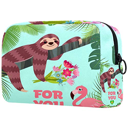 Cosmetic Travel Bag, Makeup Case, Makeup Bag, Birthday Present, Anniversary Gift - Animals Jungle