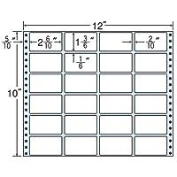 東洋印刷 タックフォームラベル 12インチ ×10インチ 24面付(1ケース500折) M12B