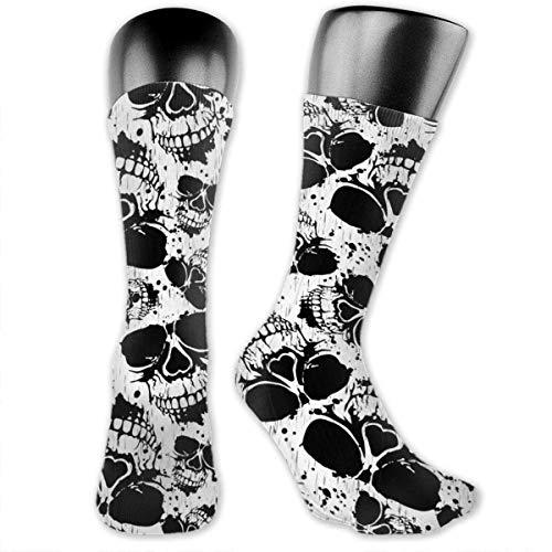 XCNGG Calze per equipaggio imbottite per ragazzi e ragazze, calze da escursionismo atletiche, calze a compressione