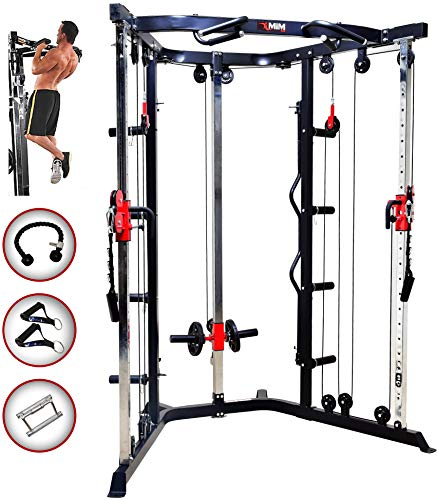 MiM USA Functional Trainer & Cable Crossover Machine