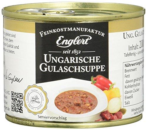 ENGLERT Ungarische Gulaschsuppe/Dose (1 x 200 ml)