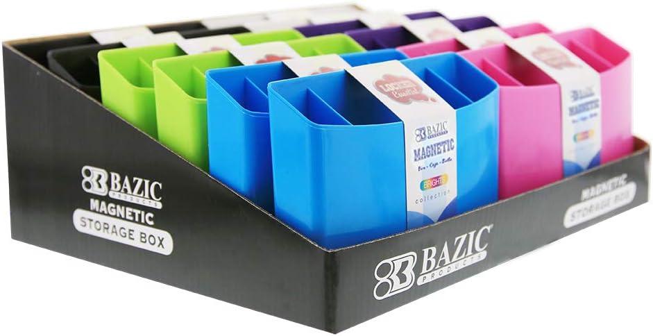12-Pack BAZIC Magnetic Storage Box