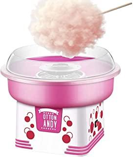 Rol The Electric Cotton Candy Machine, Makes Hard Candy, Sugar Free Candy, Sugar Floss, Mini Portable Homemade Sweets for Birthday Parties