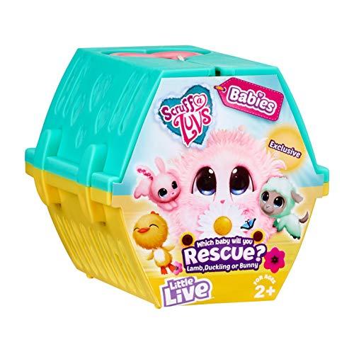 Scruff A Luvs Moose Toys LTD – 636EAS12 Oster Babys Rescue Pet (Stile varrieren)