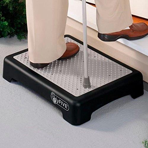 Hyfive rutschfeste Halbstufe für größere Mobilität, bei Behinderungen oder für ältere Menschen, Treppenhilfe für den Inn
