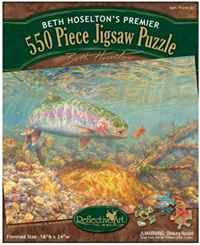 Reflective Art Shelter Valley Rainbow Jigsaw Puzzle, 550-Piece by Reflective Art