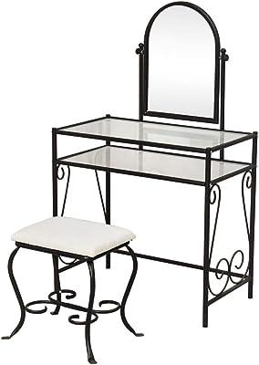 Vintage furniture  vanity makeup vanity  table 48 vanity table with mirror furniture  french provincial vanity coffee red brown gold ladies