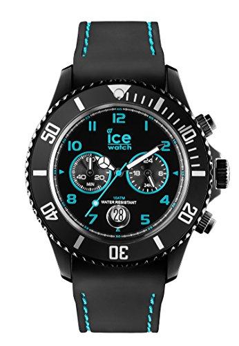 ICE-WATCH Unisex Chronograph Quarz Uhr mit Silikon Armband CH.BTE.B.S.14