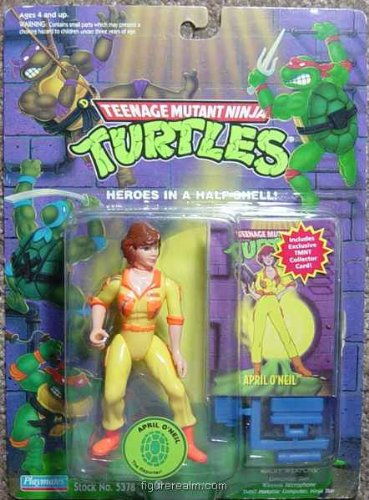 Teenage Mutant Ninja Turtles - April O'Oneil with Exclusive Collector Card