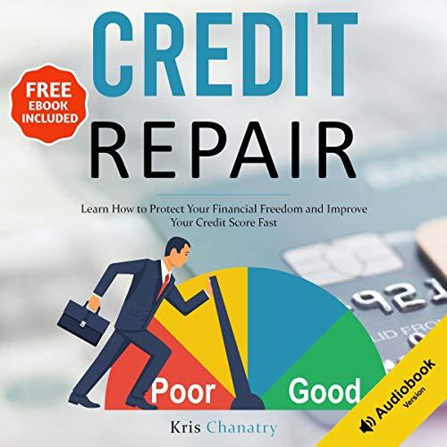 Diseño de la portada del título Credit Repair
