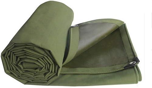 Bache de tente durable bache de tente extérieure, toile de tente de l'ombre imperméable à l'eau extérieure double face étanche à l'humidité de la cargaison tissu anti-poussière haute température toile