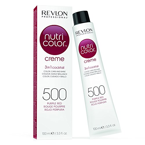 Revlon Nutri Color Cream - Cuidado capilar, 500 purple red ,100 ml