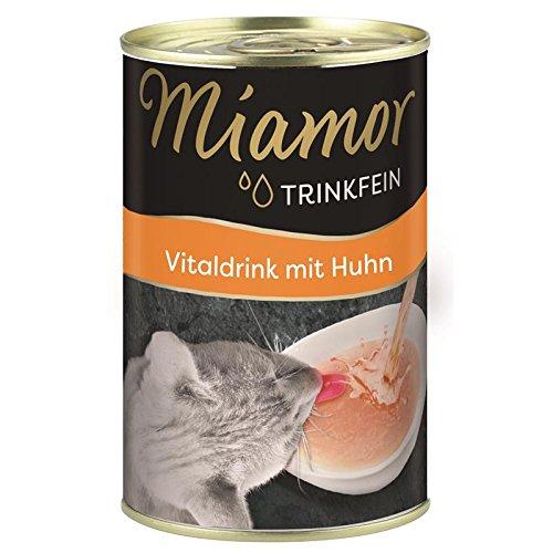 Miamor Trinkfein Vitaldrink mit Huhn | 24x 135ml für Katzen
