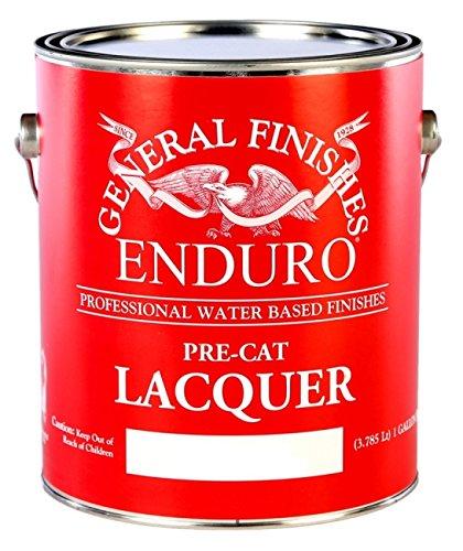Enduro Pre-Cat Lacquer (Gloss, 5 Gallon)