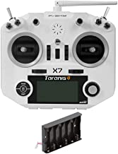 FrSky Taranis Q X7 2.4GHz 16CH Transmitter Remote Controller (White, with AA Battery Tray)