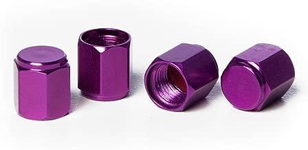 Circuit Performance VC5 Series Purple Aluminum Valve Stem Caps (Set of 4)