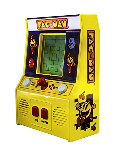 Pac Man 09521 Mini Arcade Game-Age 8+ Elettronico, Multicolore