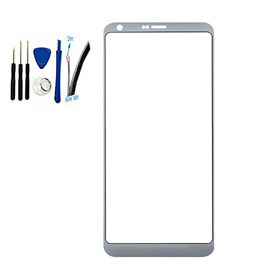 Front Screen Outer Glass top Panel Lens For L G G6 H870 LS993 H872 H871 VS988 All Carrier replacement (Ice Platinum)