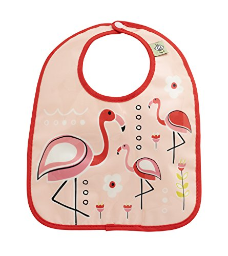 Sugarbooger Mini Bib Gift Set-of-Two, Flamingo