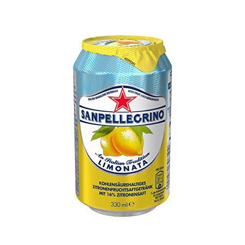 San Pellegrino Limonade Limonata Zitrone, 24er Pack, Einweg (24 x 330 ml)