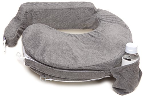 Product Image of the My Brest Friend Deluxe Nursing Pillow, Evening Grey