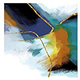 jzxjzx Peinture décorative Abstraite Salon Chambre Fond Mur Simple Peinture sans Cadre Core Peinture sur Toile 1 40 * 50 cm