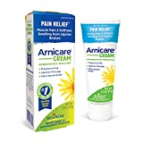 ARNICA FOR PAIN: This homeopathic medicine helps temporarily relieve muscle pain & stiffness due to minor injuries, overexertion & falls. Also great for pain, swelling, & discoloration from bruises. TOPICAL PAIN RELIEF: Our non-greasy, light & soothi...