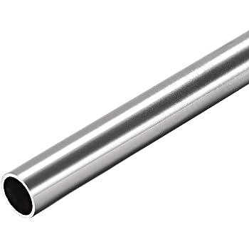 Sourcingmap 6063 Tubo redondo de aluminio 300 mm de longitud 16 mm OD 5-15 mm di/ámetro interior sin costuras tubo recto de aluminio