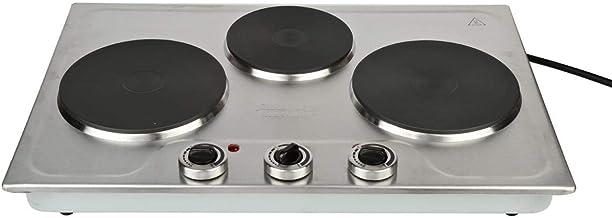 سخان طبخ كهربائي من هوم ماستر، 3 عيون، HM-393