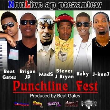 Punchline Fest (feat. Brigan Jp, Mad S, Steves J Bryan, Baky & J-Ken7)
