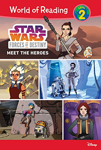 Star Wars Forces of Destiny: Meet the Heroes (World of Reading Level 2)