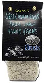 Arosis Organic Greek Medium Beans from Small Family Farms (400g)