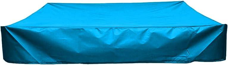 Cabilock Blauwe Waterdichte Zandbakafdekking Vierkante Zandbakafdekking Zandbak Luifel Waterafstotende Zwembadafdekking Vo...