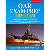 OAR Exam Prep 2020 - 2021: OAR Study Guide with 400 Test Questions and Answer Explanations for the Officer Aptitude Rating Exam (5 Full Practice Tests)
