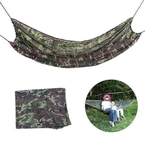 Hamaca doble, Hamaca de camping, Fibras acrílicas Fabricación profesional para mochileros de camping