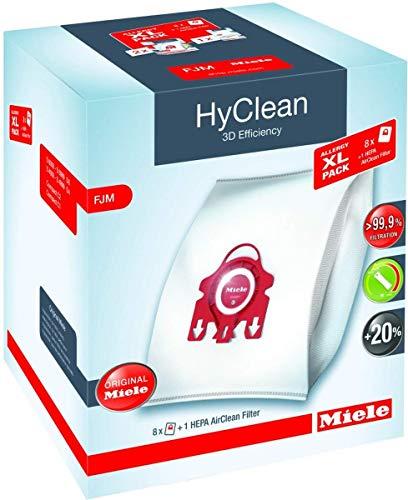 Miele Allergy XL-Pack Promo Staubsaugerbeutel FJM + HEPA-Filter, Nylon