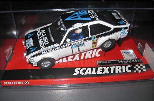 EXIN, FLY CAR MODELS SCALEXTRIC Ford Escort MKII MAKINEN
